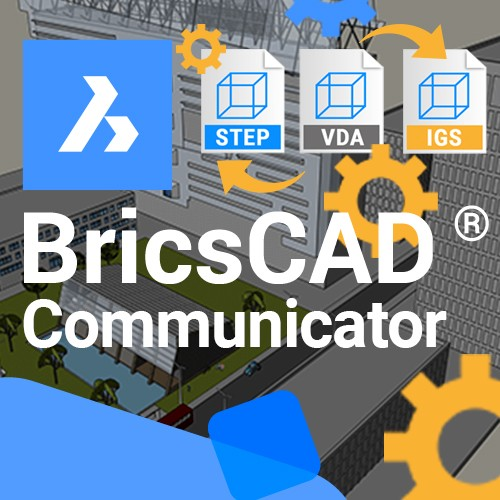 BricsCAD Communicator V21, 1 jaar Maintenance, Late Attach