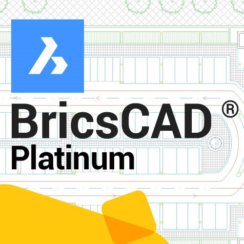 BricsCAD Platinum V20 upgrade vanaf V19, incl. 1 jaar maintenance
