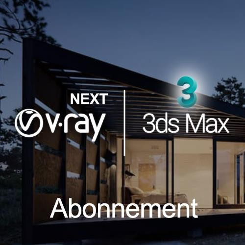 V-Ray Next for 3ds Max, looptijd 1 jaar