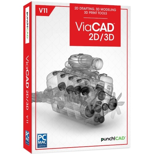 ViaCAD 2D/3D v11 Upgrade vanaf ViaCAD 2D, Windows