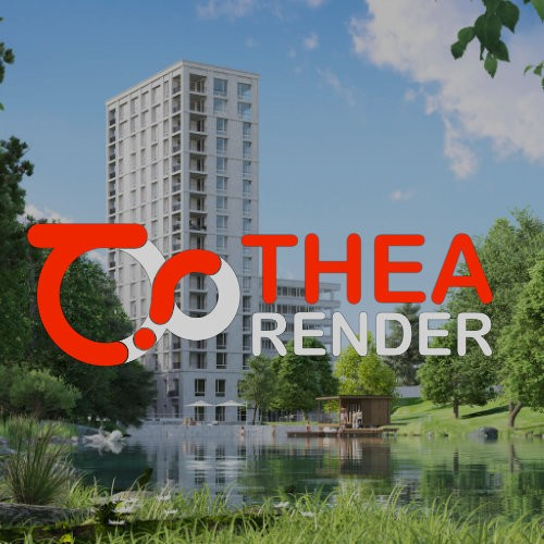 Thea Render for SketchUp, 1 jaar