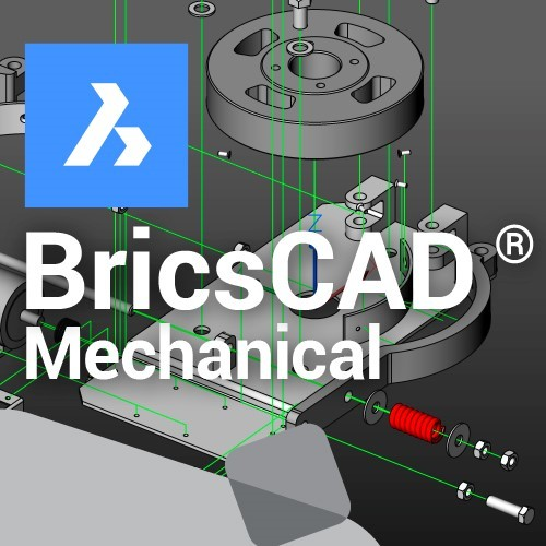 BricsCAD Mechanical V20 upgrade vanaf V17 en ouder, incl. 1 jaar maintenance