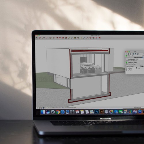 V-Ray for SketchUp online training, 2 dagen