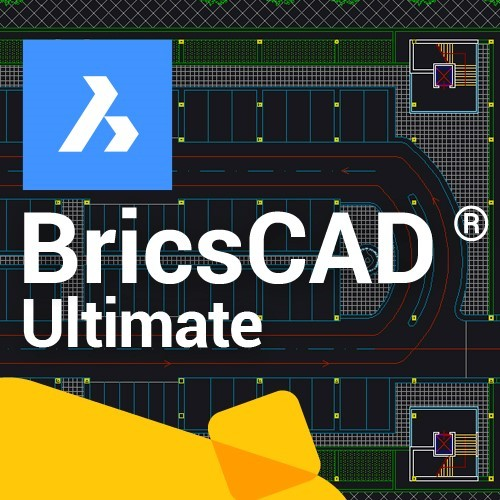 BricsCAD Ultimate V21 upgrade vanaf V20, incl. 1 jaar Maintenance